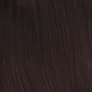 BelleTress Topper | Ginger (4/6 )  A blend of cappuccino and dark chocolate brown