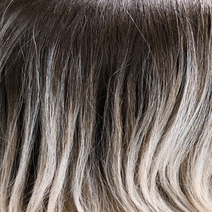 BelleTress Wigs | Coconut Brown Sugar | Mixture of platinum and ash blonde highlights compliment ashy brown hair.