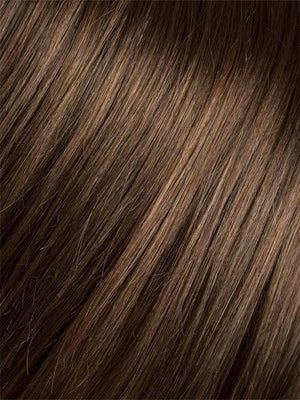 Ellen Wille Wigs | HOT CHOCOLATE MIX | Medium Brown Reddish Brown and Light Auburn blend