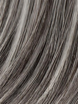 Ellen Wille Wigs | SALT PEPPER MIX | Light Natural Brown with 75% Gray Medium Brown with 70% Gray and Pure White Blend