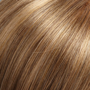 Spirit Swiss Lace Front Wig by Jon Renau DARK ASH BROWN W 33% HONEY BLONDE HILITES (24BRH18)