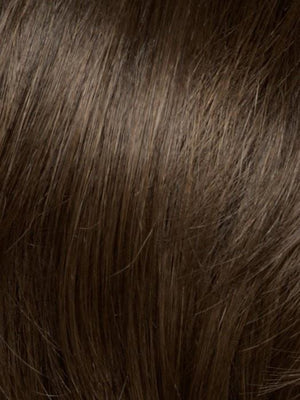 Noriko Wigs | DARK CHOCOLATE Dark Brown Blended with Medium Brown