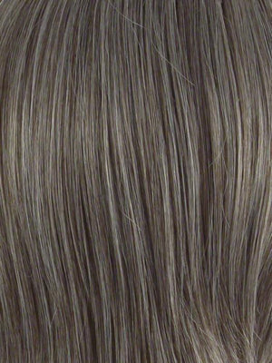 Envy Wigs | 38 DARK GREY | Medium to Light Brown blend with 40% Grey