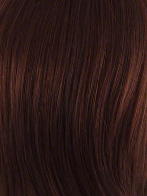 Envy Wigs | DARK RED | Auburn with Brighter Red highlights