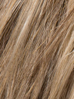 DARK SAND ROOTED | Light Brown base with Lightest Ash Brown and Medium Honey Blonde blend and Dark Roots