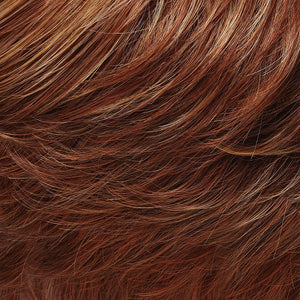 Jon Renau Wigs - Color DARK STRAWBERRY BLONDE W MEDIUM RED NAPE (27MBF)