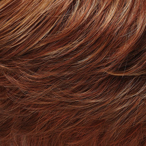 Jon Renau Wigs - Color DARK RED-GOLD BLONDE WITH MED RED NAPE (27MBF)