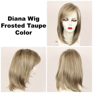 Godiva Secret Wigs | Frosted Taupe