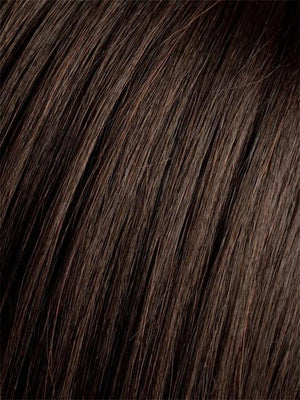 Ellen Wille Wigs | ESPRESSO-MIX  Darkest Brown base with a blend of Dark Brown and Warm Medium Brown throughout