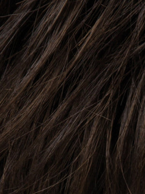 Ellen Wille Wigs | ESPRESSO ROOTED Darkest Brown Base with a Blend of Dark Brown and Warm Medium Brown throughout