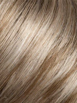 Ellen Wille Wigs | PEARL BLONDE ROOTED | Pearl Platinum Dark Ash Blonde and Medium Honey Blonde mix