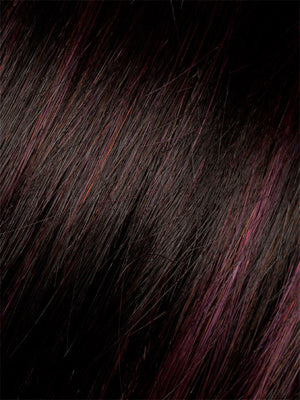 Ellen Wille Wigs - Color BLACK-CHERRY-MIX