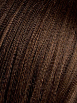 Ellen Wille Wigs - Color DARK-CHOCOLATE-MIX | Warm Medium Brown Dark Auburn and Dark Brown blend