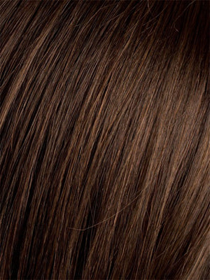 Ellen Wille Wigs | DARK CHOCOLATE MIX | Warm Medium Brown, Dark Auburn, and Dark Brown Blend
