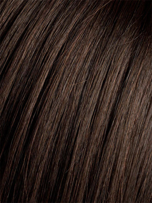 Ellen Wille Wigs - Color ESPRESSO-MIX | Darkest Brown base with a blend of Dark Brown and Warm Medium Brown throughout