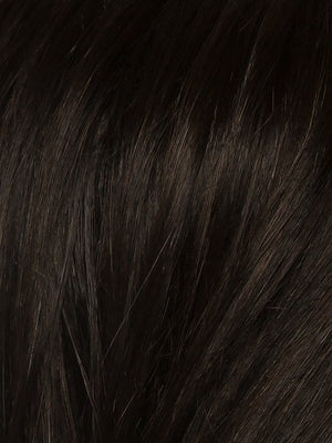 Ellen Wille Wigs | ESPRESSO ROOTED | Darkest Brown Base with a Blend of Dark Brown and Warm Medium Brown throughout