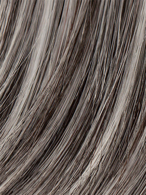 Ellen Wille Wigs - Color SALT-PEPPER MIX | Light Natural Brown with 75% Gray Medium Brown with 70% Gray and Pure White Blend