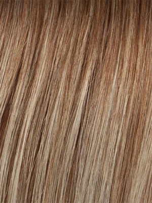 FLAME | Medium Auburn Highlighted with Strawberry Blonde and Ash Blonde