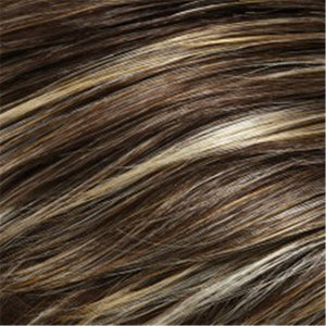 Jon Renau Wigs - Color LIGHT BROWN W HONEY BLONDE HI-LITE STREAKS CONCENTRATED ON FRONT & TOP (FS10)
