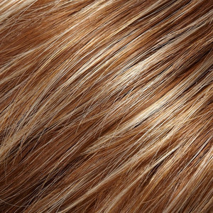 Jon Renau | FS26-31-Caramel Syrup-Medium natural Red Brown With Medium Red Gold Blonde Bold Highlights