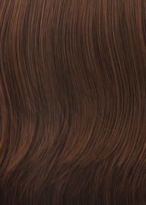 Gabor Wigs | G30+ PAPRIKA MIST | Warm dark brown base w/ medium copper highlights