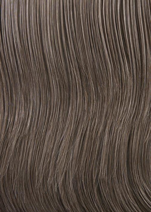 Gabor Wigs | G38+ SUGARED WALNUT | Medium brown w/ 50% grey highlights