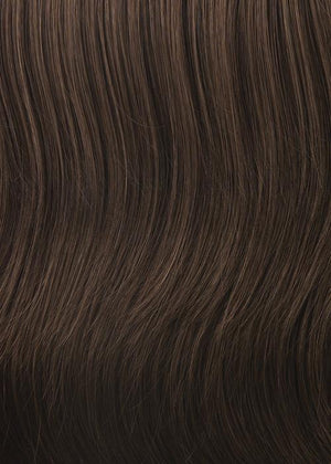 Gabor Wigs | G6+ COFFEE MIST | Dark brown base with medium brown highlights