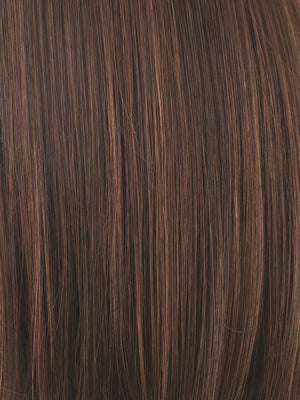 Noriko Wigs | GINGER BROWN | Medium Auburn and Medium Brown evenly blended