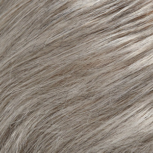 Hair Pieces Women - Color LIGHT GREY WITH 20% MEDIUM BROWN & LIGHT GREY WITH 30% DARK BROWN BLEND (56/51)