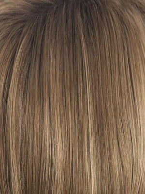 Rene of Paris Wigs | HONEY-WHEAT | Light Brown base with Honey Blonde highlight