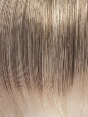 Amore Wigs | ICE-BLONDE | Ash Blonde base with White Gold tips and highlights around the face