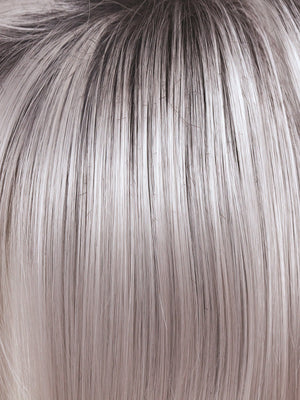 ILLUMINA-R | Silver Grey with Dark Brown roots