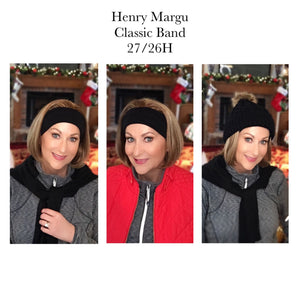 Henry Margu Wigs | Classic Band Wig by Henry Margu