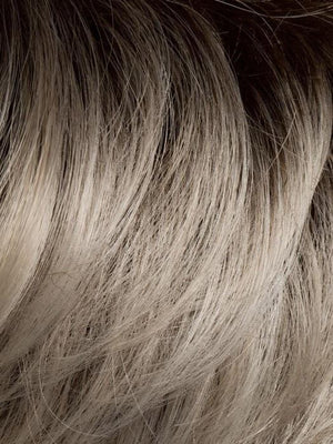 LIGHT-CHAMPAGNE-ROOTED Platinum Blonde Cool Platinum Blonde and Light Golden Blonde blend