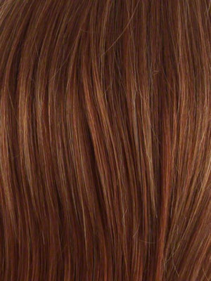 Envy Wigs | LIGHTER RED | Irish Red with subtle Blonde highlights