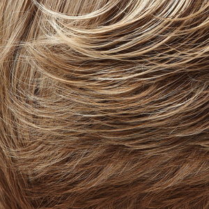 Bree Open Top Wig by Jon Renau LIGHT BROWN & CHAMPAGNE BLONDE BLEND W LT BROWN NAPE (10/22TT)