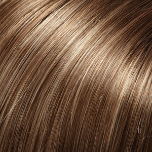 Jon Renau Wigs - Color LIGHT BROWN W 33% ASH BLONDE HI-LITES (10RH16)