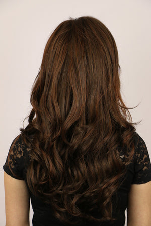 Godiva Secret Wigs | Large Harper Mono Wig | Ginger Brown