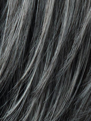 Ellen Wille Wigs | M44S | Dark Brown with 75% Gray
