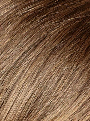 Noriko Wigs | MARBLE BROWN | Medium Brown Evenly Blended with Light Honey Brown