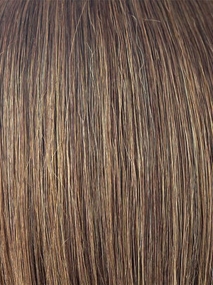 MARBLE-BROWN-LR | Medium Brown and Light Honey Brown 50/50 blend with Dark Brown Roots