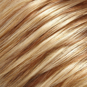 Jon Renau Wigs - Color MEDIUM NATURAL-ASH BLONDE & MED RED-GOLD BLONDE BLEND (14/26)