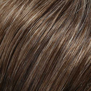 Jon Renau Wigs | 38 MILKSHAKE | Medium Brown with 35% Light Grey