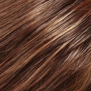 Jon Renau Wigs - Color MEDIUM BROWN W ASH BLONDE HI-LITES (8F16)