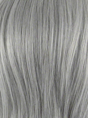 Envy Wigs | 56 MEDIUM GREY | Salt and Pepper Grey 50% Medium Brown 50% Grey
