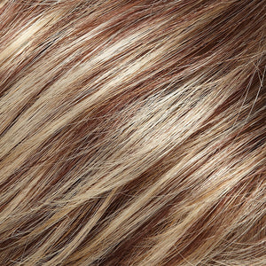 Jon Renau Wigs - Color MEDIUM RED W GOLDEN BLONDE HI-LITES (FS24/32)