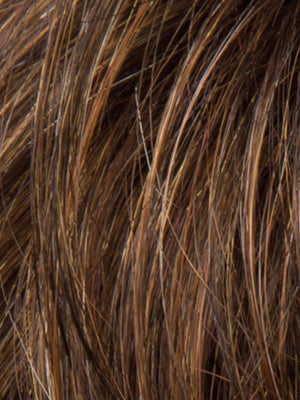Ellen Wille Wigs | MOCCA ROOTED  Medium Brown Light Brown and Light Auburn Blend with Dark Roots