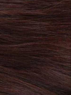 MULBERRY-BROWN Dark chocolate and dark auburn blend with rusty auburn undertones