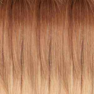 Jon Renau Wigs | OMBRE LIGHT MEDIUM BROWN W GOLD RED BLEND & MED ASH BLONDE W GOLD BLONDE BLEND (B8-30-1426RO)