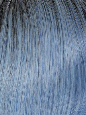Hairdo Wigs - Color BLUE | Rooted Blue Sky